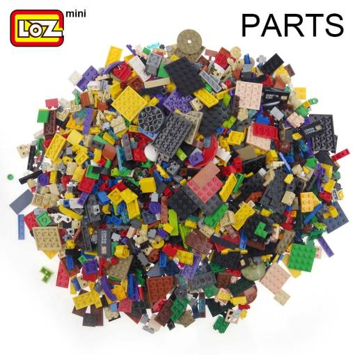LOZ Mini Bricks Bulk Building Blocks City DIY Creative Designer Creative Classic Brick DIY Model Figures Educational Kids Toys