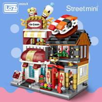LOZ Mini Blocks Building Blocks Architecture DIY Bricks City Series Mini Street Model Store Shop Assembly Toy Kid Educational