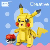 LOZ Mini Blocks Animal Figure Japan Anime Figurines Educational Toys For Children Model Building Kits DIY Assembly Model 1209