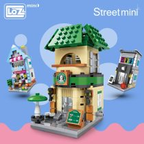 LOZ Mini Blocks City Mini Street Building Block Enlighten Bricks Architecture Educational Toys for Children House Toys & Hobbies