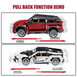 625pcs Creator Off-road SUV Vehicles Building Blocks Technic City Racing Car SEMBO MOC Model Bricks Education Toys For Children