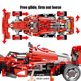 2020 NEW SEMBO Block 585PCS City Remote Control Bricks Technic RC F1 Equation Racing Car Building Blocks Toys For Kids