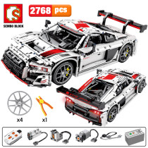 2768pcs City Remote Control Sports Vehicles Building Blocks Creator Technic RC/non-RC Racing Car MOC Model Bricks Toys for Kids