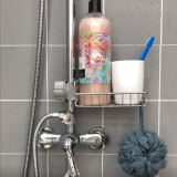 ADJUSTABLE DRAIN STORAGE RACK(Punch-free installation, simple and durable)