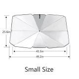 Foldable Car Sun Umbrella-Block Heat UV