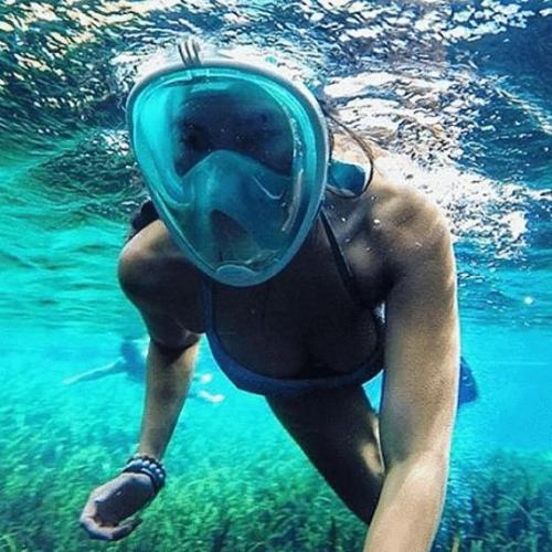 (50% off toady)Full Face Snorkel Mask
