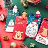 Christmas Cartoon Deer Phone Case