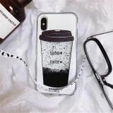 Coffee Quicksand Phone Case