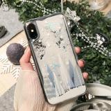 Christmas Cedar Quicksand Phone Case