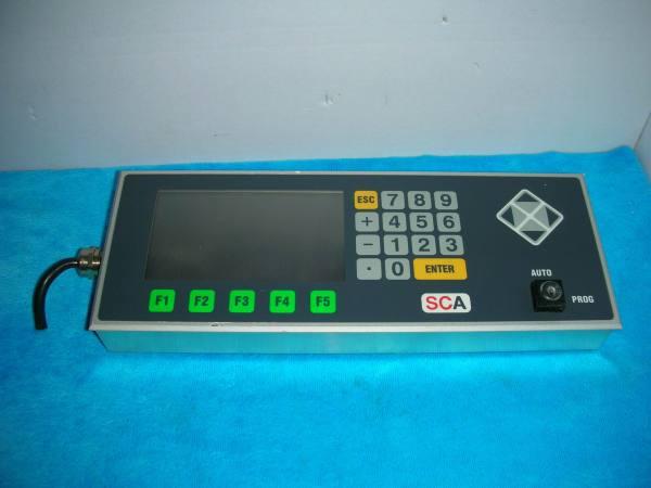 SCA Tastatur sys3000, 0160.5002 ,REV5002.1013.01