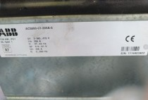 ABB Frequency converter ACS880-01-206A-3 Light load 110kw heavy load 90kw