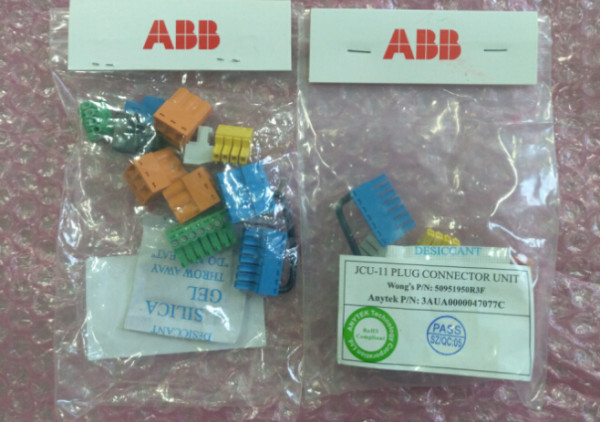 ABB Frequency converter ACS850 spare part JCU-11 terminal
