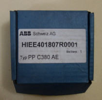 ABB Spare parts of frequency converter HIEE401807R0001 PP C380 AE