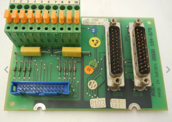 ABB DSTC170 57520001-BK Control Module