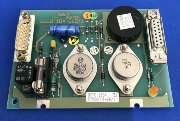 ABB DSTC190 57520001-ER Connection Unit
