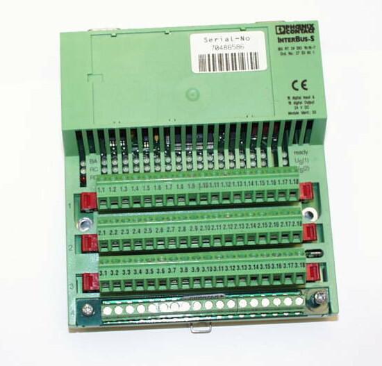 PHOENIX CONTACT IBS RT 24DI0 16/16-T I/O module