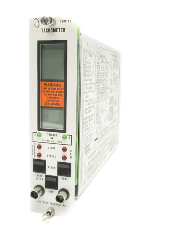 BENTLY NEVADA Tachometer Monitor 3300/50-02-01-00-00
