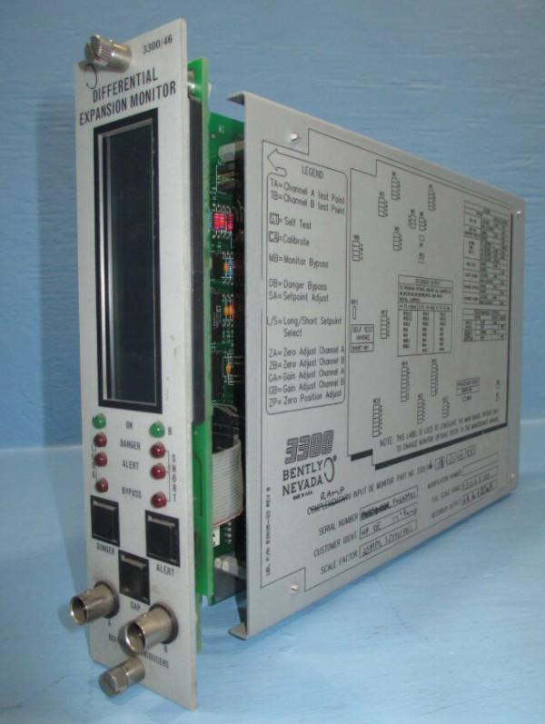 BENTLY NEVADA PLC Module 3300/46