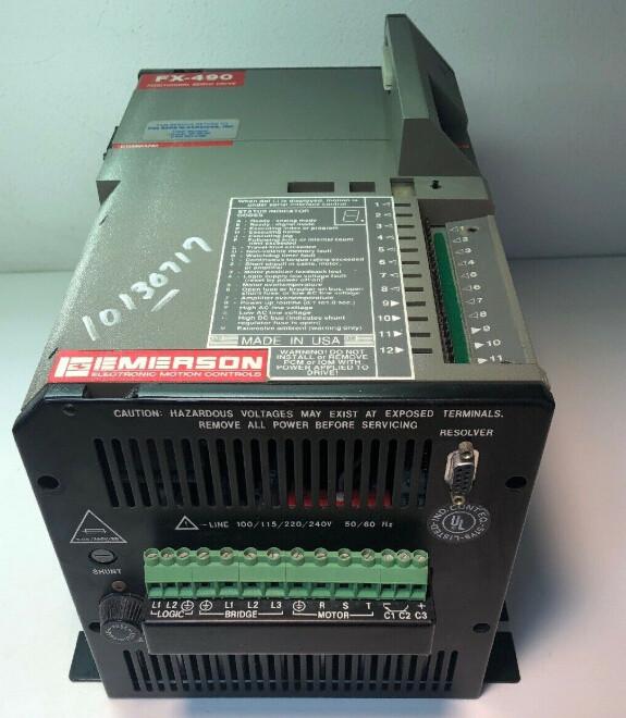 EMERSON SERVO DRIVE FX-490