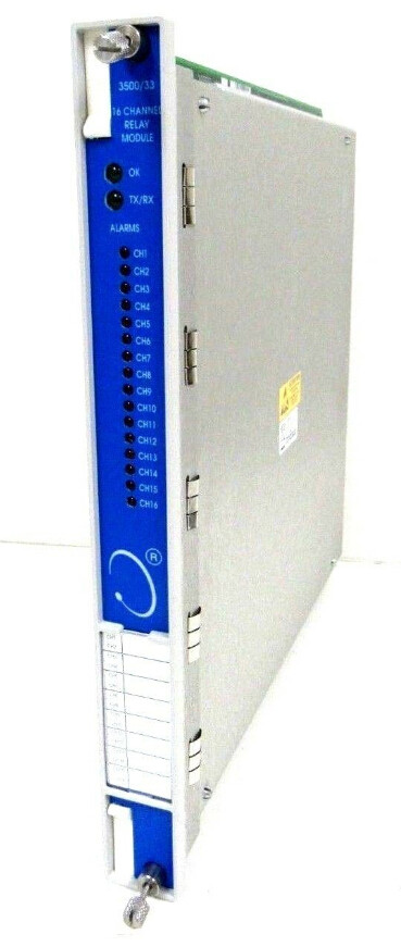 BENTLY NEVADA 3500/33 16-Channel Relay Module