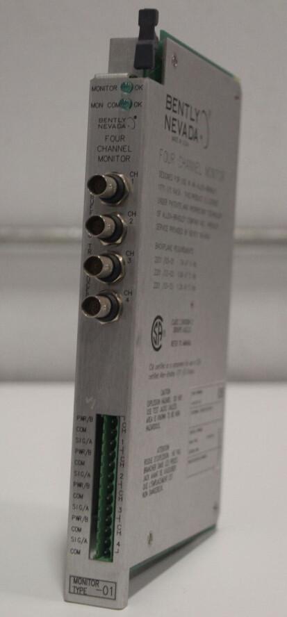 BENTLY NEVADA 2201/03-01 4-Channel Monitor Module