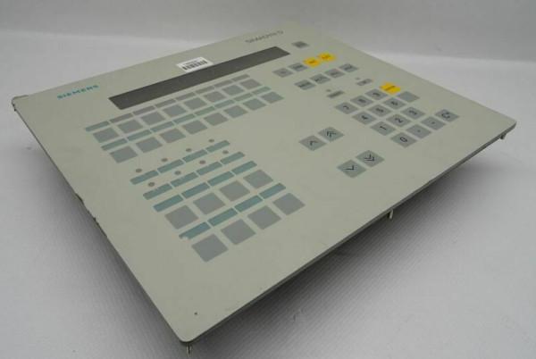 SIEMENS 6DD1670-0AF0 Operator Panel