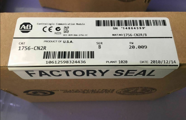 AB Allen Bradley 1756-CN2R/A Communication Module