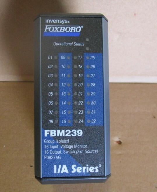 FOXBORO FBM239 P0927AG I/O Module