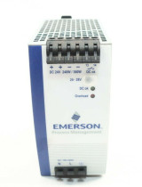 EMERSON 1X00781H01L Power Supply 24vdc