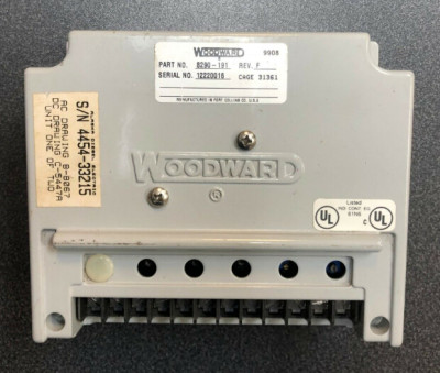 WOODWARD 8290-184 Speed Controller
