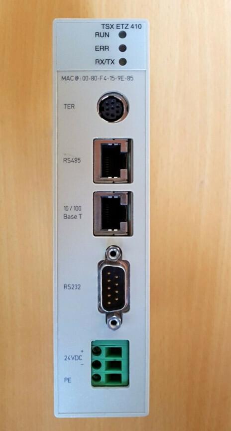 SCHNEIDER TSXETZ410 Ethernet module