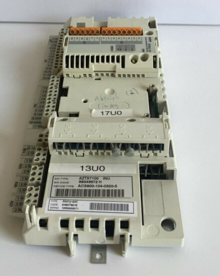 ABB RDCU-02C 64607901 DRIVE CONTROL UNIT