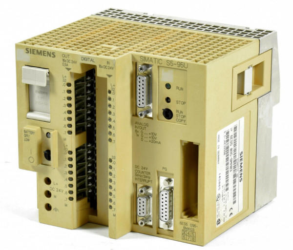 SIEMENS 6ES5095-8MA03 24VDC NSMP CPU Module