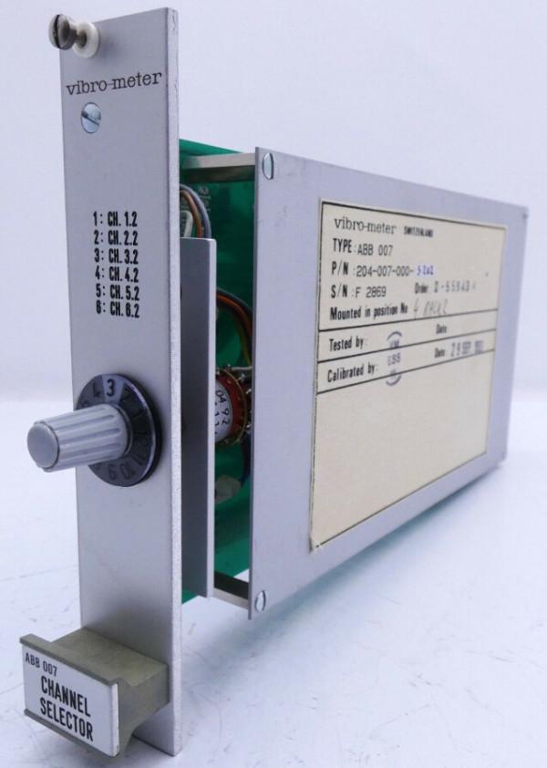 VIBRO METER ABB007 204-007-000-102 U/I Module