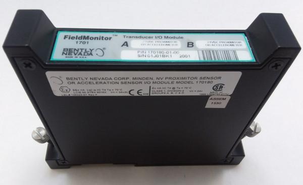 BENTLY NEVADA 170180-01-00 TRANSDUCER I/O MODULE