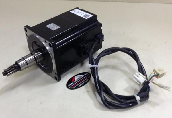 Yaskawa AC Servo Motor SGMP-15AWYR12 1500w 7.5a 200v 3000r/min