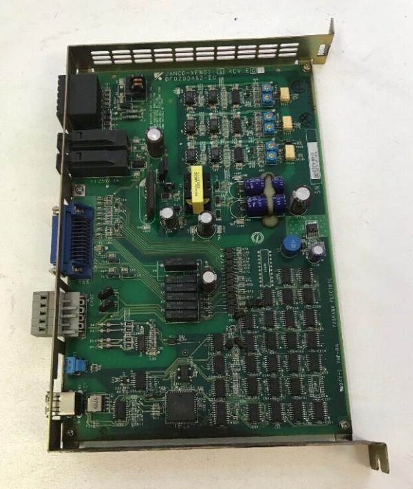 YASKAWA ELECTRIC COMMUNICATION MODULE JAMSC-1F60V JAMSC 1F60V RTD983 REFURBISHED