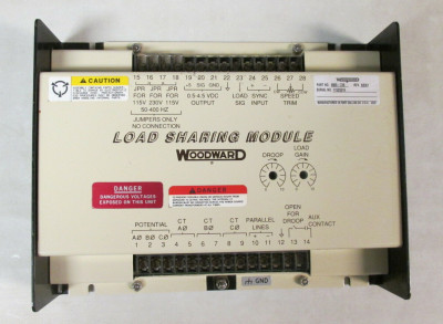 Woodward 9905-971 16-Ch Discrete Input 24VDC