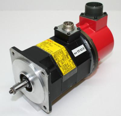 FANUC AC Servo Motor A06B-0128-B176 A06B0128B176 #396484 1.40kW