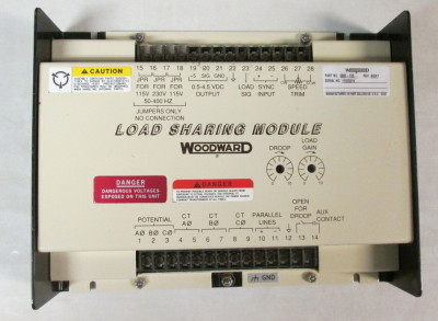 WOODWARD TERMINATION MODULE 9905-760