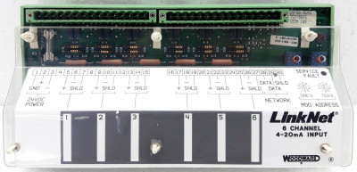 WOODWARD 9905-968 6 CHANNEL ANALOG INPUT 4-20mA
