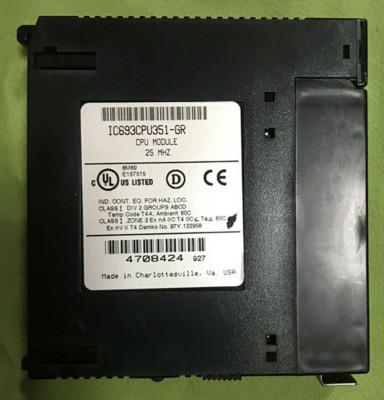 GE Fanuc IC693CPU351-GR CPU Module