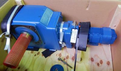 DEMAG Getriebe Bremsmotor WUE 90QL