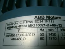 ABB Motor MT90L24-4