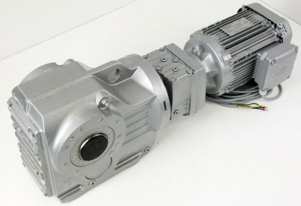 SEW EURODRIVE KA77 R37 DRN90L4 Gear Motor 1,5kW