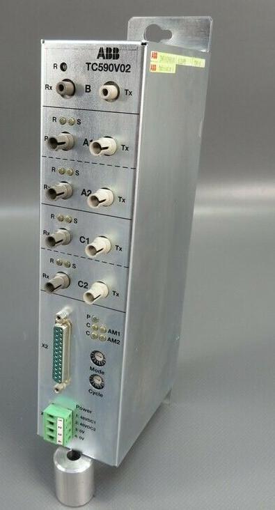 ABB TC590V02 SERCOS Optical Modem 3BHF000290R1003