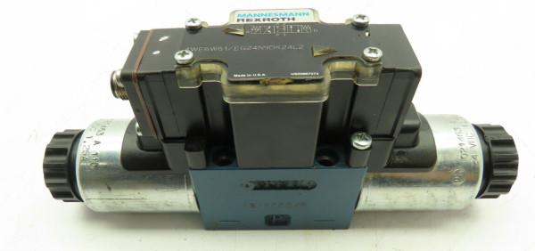 Rexroth 4WRZE25W842570/6EG24N9ETK31 Hydraulic Solenoid Valve 24V