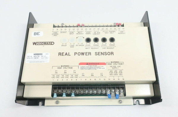 WOODWARD 8272-702 H REAL POWER SENSOR MODULE