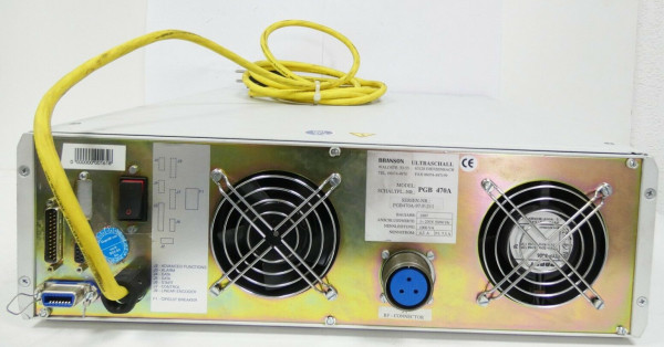 Branson PGB 470A Ultrasonic Generator