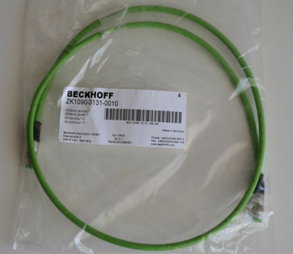 BECKHOFF ZK4531-0010-0010 EtherCAT cable